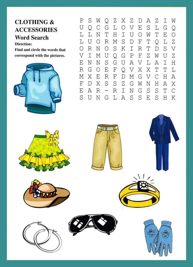 clothing-accessories-wordsearch