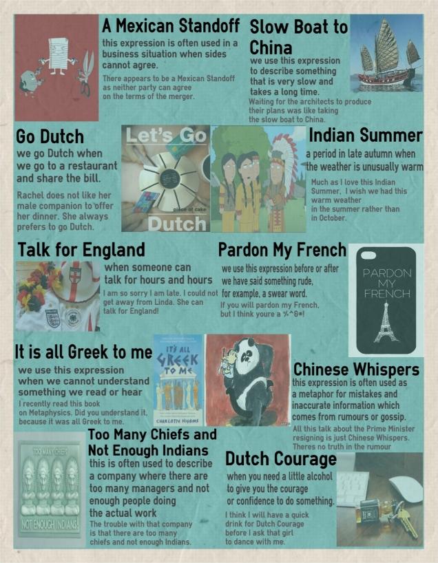 10 английских идиом с национальностями